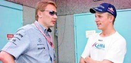 Mika Hakkinen na Williams?