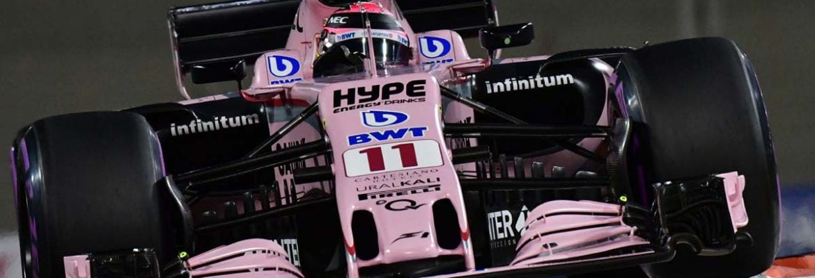 Sergio Perez (Force India) - GP de Abu Dhabi