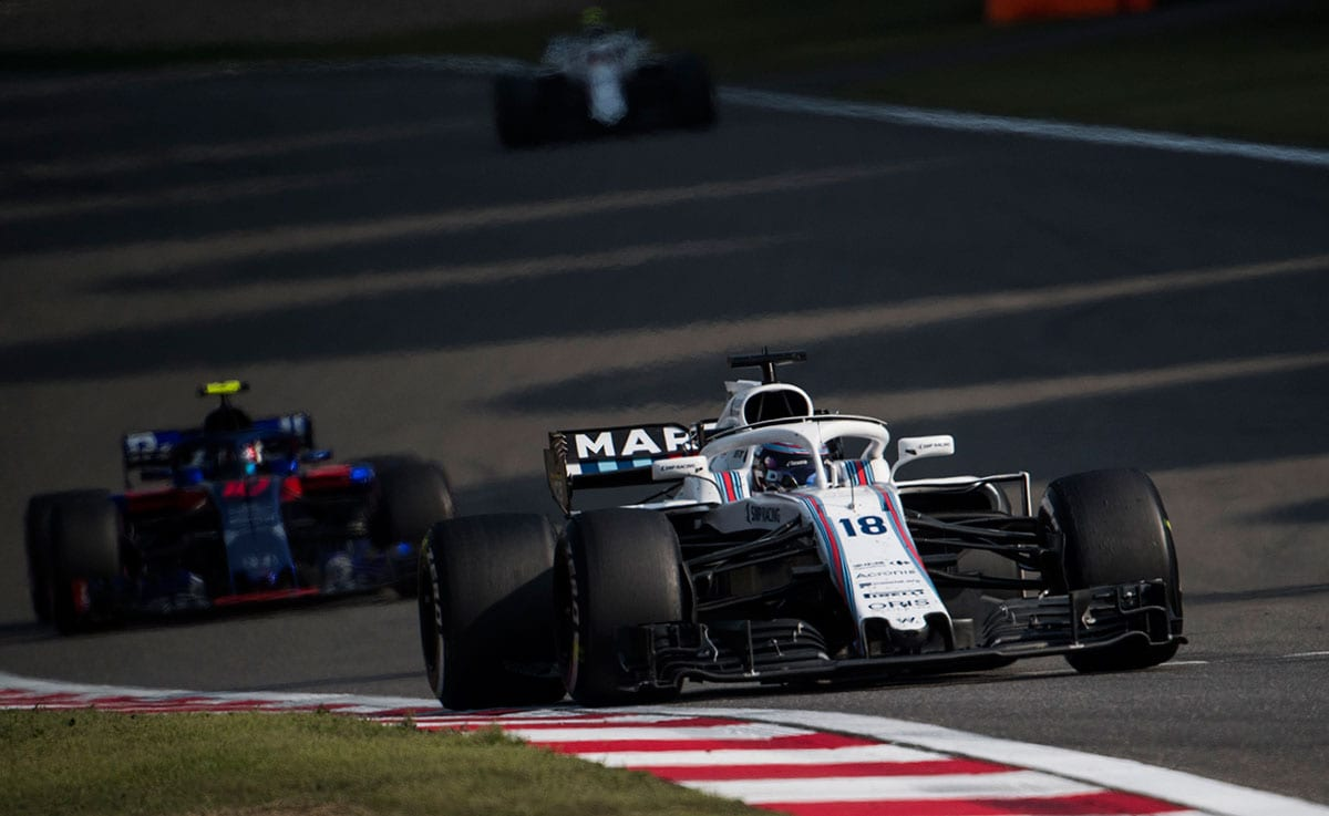 Lance Stroll (Williams) - GP da China