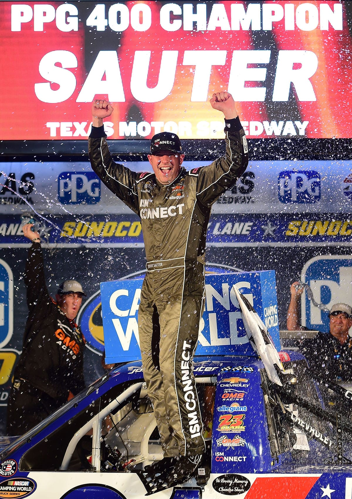Johnny Sauter - NASCAR Camping World Truck Series PPG 400