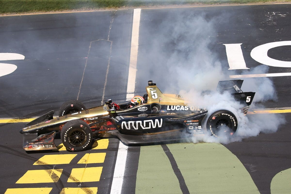 James Hinchcliffe (IndyCar) - Iowa