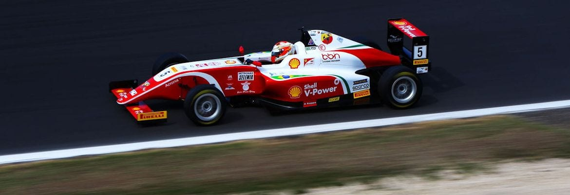 Gianluca Petecof - F4