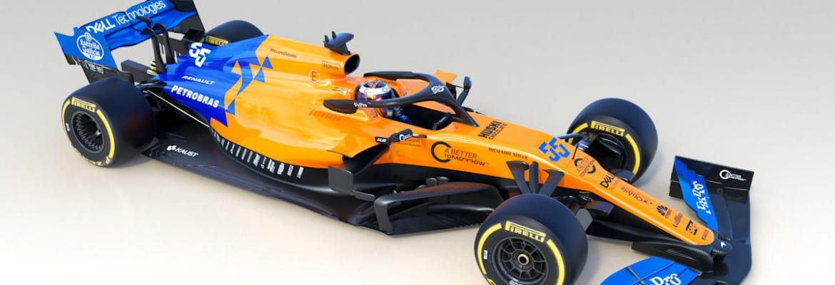 mclaren apresenta o mcl34 para a temporada 2019 da f rmula. Black Bedroom Furniture Sets. Home Design Ideas