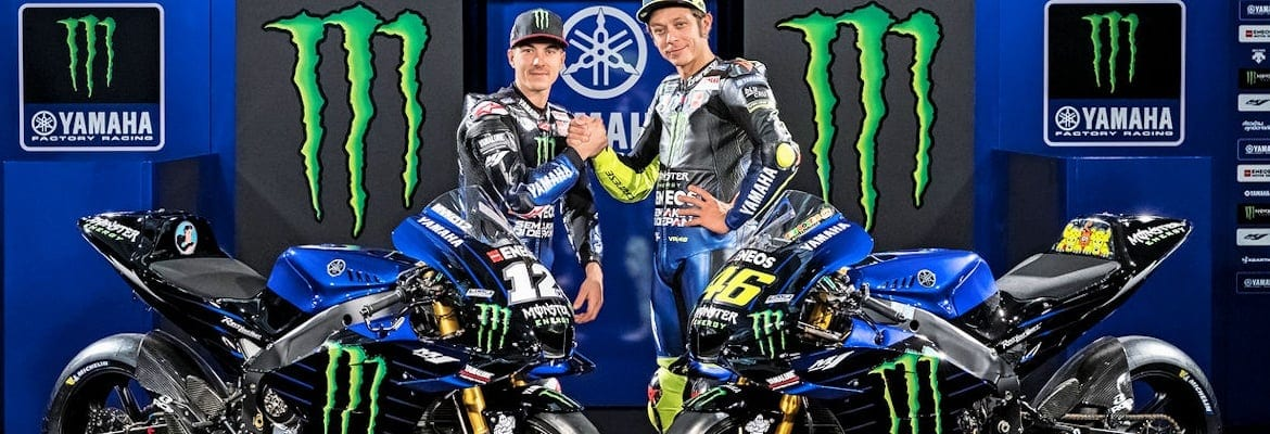 Rossi e Vinales - Monster Energy Yamaha - Moto GP