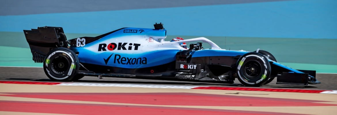 George Russell (Williams) GP do Bahrein de F1 2019
