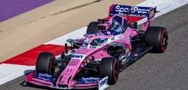 Sergio Perez (Racing Point) GP do Bahrein de F1 2019