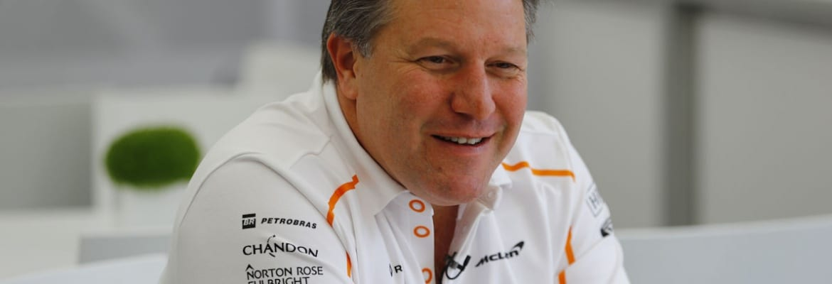 Zak Brown - McLaren