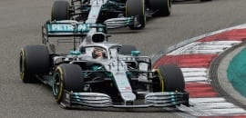 Lewis Hamilton (Mercedes) - GP da China F1 2019