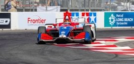 Matheus Leist (IndyCar) Long Beach