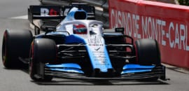 George Russell (Williams) GP de Mônaco F1 2019