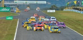 Largada - Stock Car - Goiânia