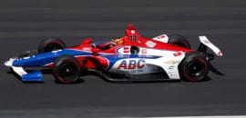 Matheus Leist (IndyCar) Indy 500