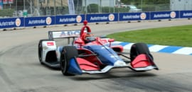 Matheus Leist (IndyCar) Detroit