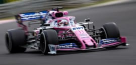 Sergio Perez (Racing Point) GP da Hungria F1 2019