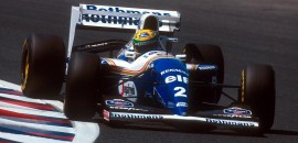 Ayrton Senna (Williams) - Aida 1994